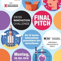 Finalists for the Swiss Innovation Challenge