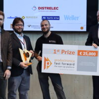 First place at Productronica Fast Forward competition